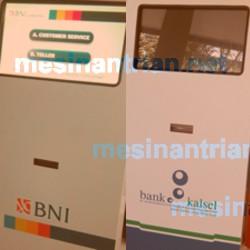 Mesin Antrian Bank BNI, Kalsel