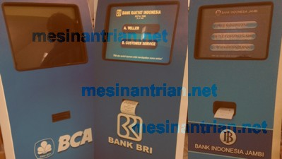 mesin antrian bank Indonesia