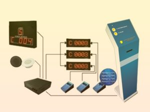 Mesin Antrian Standar SQ Platinum