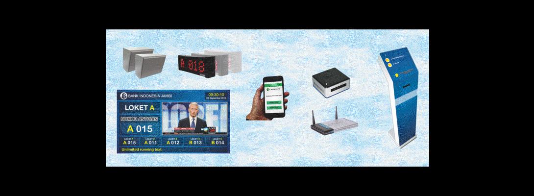 Mesin Antrian android Standar